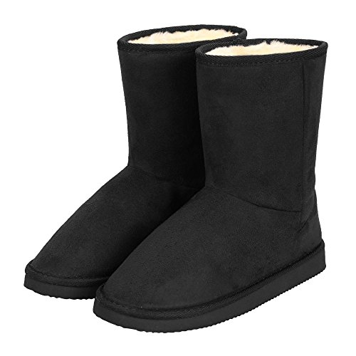 eshion Fashion Women Winter warm Ankle Snow flat Boot Fleece Lined Size 36-40 ES9P