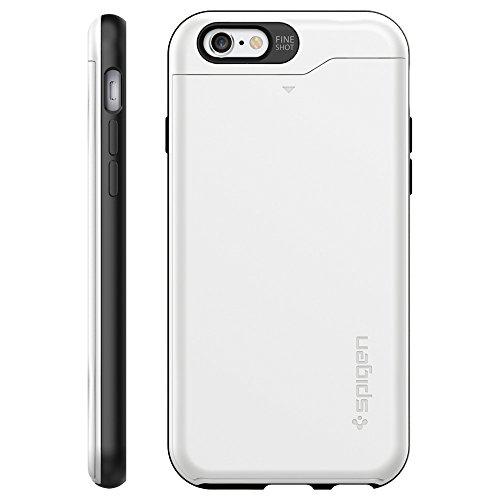 official photos 21c8c cd328 Spigen Slim Armor CS iPhone 6 Case with Slim Dual Layer Wallet ...