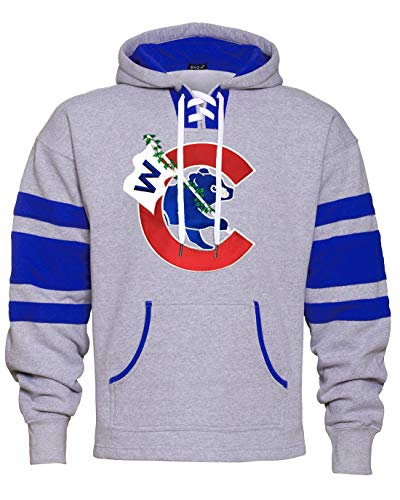 - Thats Cub Flying W Run Game Day Hoodie (Large)