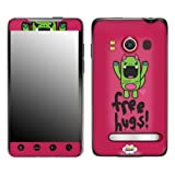 Zing Revolution MS-SOSO60132 So So Happy - Tribe Free Hugs Cell Phone Cover Skin for HTC Evo 4G