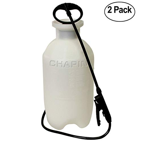 Chapin 20002 2-Gallon Poly Lawn, Garden, And Multi-Purpose Or Home Project Sprayer Great For Fertilizers, Weed Killers And Common Household Cleaners, 2 Pack, 2-Gallon Each (1 Sprayer/Package) by Chapain International