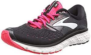 Brooks Women's Glycerin 16 Black/Pink/Grey 5.5 B US