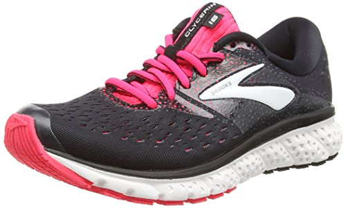 Brooks Glycerin 16, Zapatillas de Running para Mujer Multicolor (Black/Pink/Grey 070)