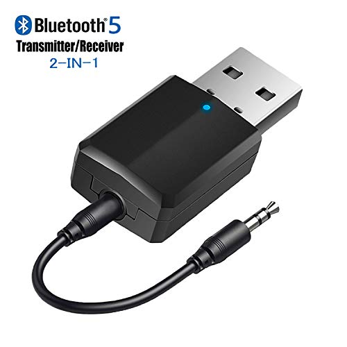 For Sale! iSbeller USB Bluetooth Transmitter Receiver 2 in 1, Bluetooth Adapter Dongle for TV PC Hea...