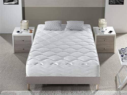 Confort de Hotel Acogida Suave con firmeza Media. Bellavista Home Colch/ón Ibiza Viscoel/ástico 90x180x20 cm