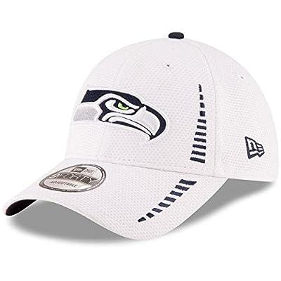 Seattle Seahawks New Era Speed 9FORTY Adjustable Hat - White