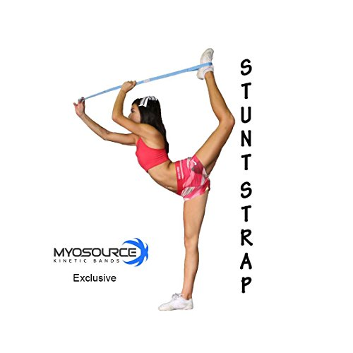 Stretching Strap for Cheerleaders Adjustability Stunt Strap Band for Stretching - Increase flexibility