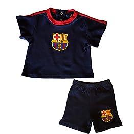Fc Barcelone Ensemble T-Shirt + Short bébé Barça - Collection Officielle