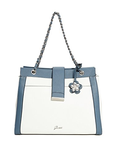 GUESS Factory Women's Women's Bria Color-Block Satchel
