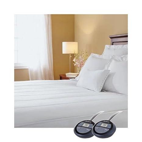 Sunbeam King colchón climatizada Pad, construcción Acolchada para Mayor Comodidad con 10 ajustes de Calor