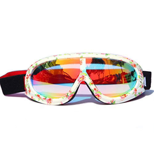 Adjustable Colorful Kids Outdoor Goggles UV Protective Windproof Dustproof Glasses by - India Shopping Online Eyewear