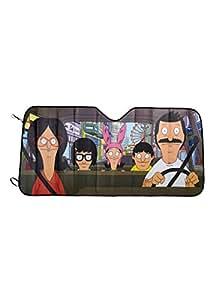Amazon.com: Bob's Burgers Accordion Sunshade: Automotive