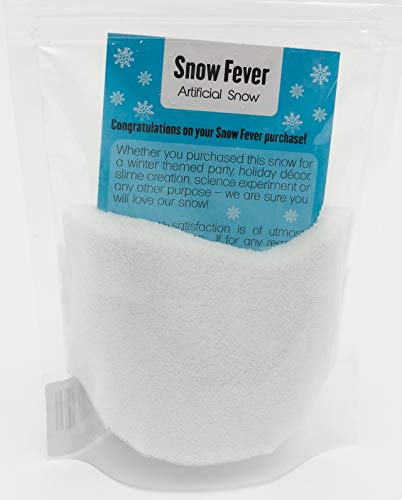 Instant Snow Powder - Artificial Fake Snow for Slime, Kids & Crafts - Premium Snow Decorations for Party, Photography, Christmas & Home Decor - Makes Gallons of Fluffy White Snow (1 Gallon)