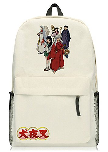 (Siawasey Anime Inuyasha Cosplay Bookbag Daypack College Bag Backpack School)