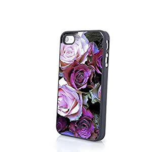 CaseBeautiful Liveliy Cute Flowers Matte Pattern PC Phone Cases fit for Colorful iPhone 4/4S Cases