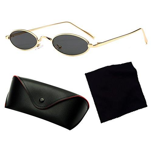Unisex La Calle Mxssi Hombres Retro Estrecha Gafas Mujeres Oval Forma Moda Cápsula De Sol Nueva Catwalk C2 Gafas Para De Y Popular d7r6x7pq