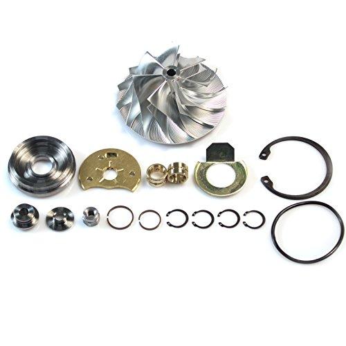 - Billet Compressor Wheel Rebuild Kit for 2004.5-2007 Dodge Ram with Cummins 5.9L Diesel HE351CW Turbocharger