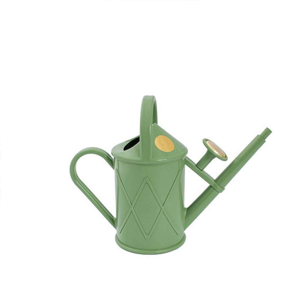 WXH Watering Cans Watering Can Traditional Plastic Watering Can (6 Colors) A+ (Color : Grayish Green) by WXH