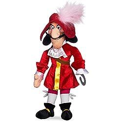 Disney Captain Hook Plush - Peter Pan - Medium