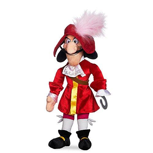 Plush Wendy Doll - Disney Captain Hook Plush - Peter Pan - Medium