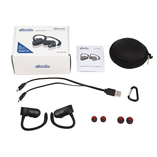 ALLIMITY Cable Free True Wireless Stereo Headphones ...