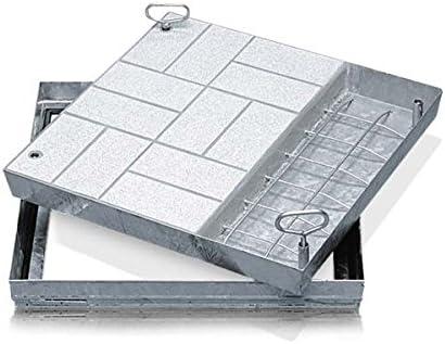ZARGES Schachtabdeckung Aluminium 635 x 635 mm