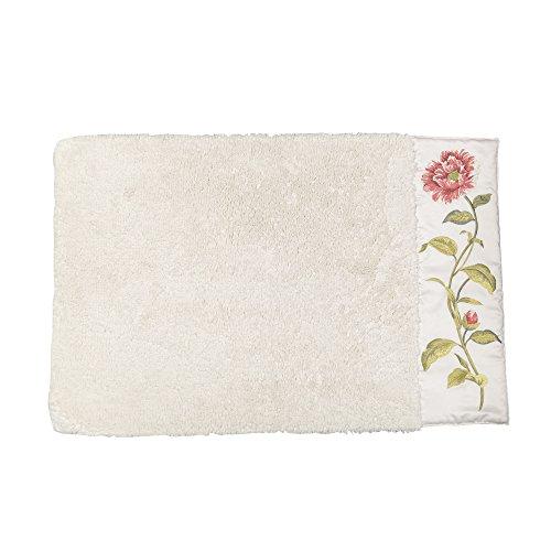 CROSCILL Daphne Bath Rug (Shower Curtain Croscill Jacquard)