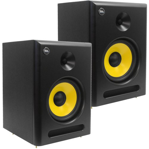 Seismic Audio - Spectra-8P-Pair - Pair of Active 2-Way 8