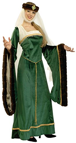 Forum Novelties Women's Designer Collection Noble Lady Costume, Green, X-Large