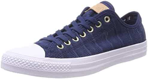 Converse Women s CTAS OX Navy Tan White Trainers 79822bf94
