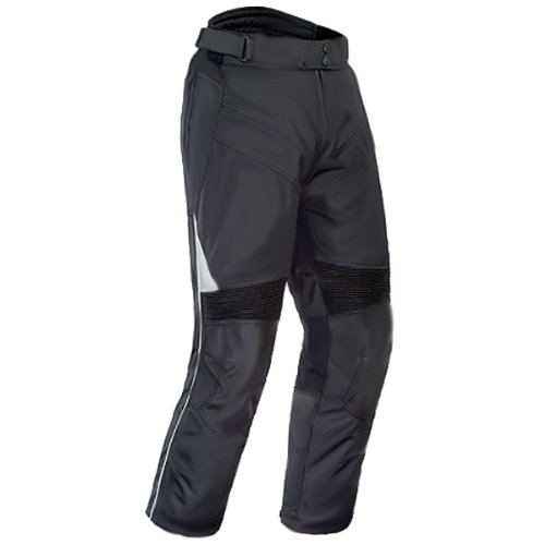 Tour Master Venture Men's Textile Cruiser Motorcycle Pants - Black / X-Large