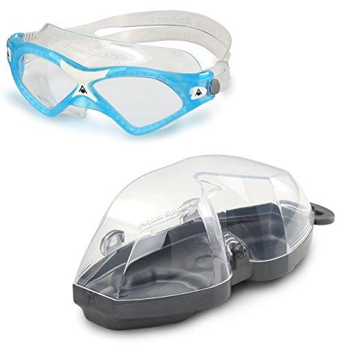 Aqua Sphere Seal XP2Masque de natation avec verres transparents Aqua/Blanc