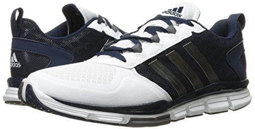 Adidas Performance Men's Speed 2 Cross-Trainer Shoe, Collegiate Navy/Carbon Met. White, 9.5 M US