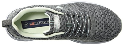 U k S Women's Oxford Polo Assn Mint Fana Dark Grey XX6rw