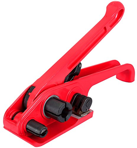 FLK Tech Manual Strapping Tensioner Tool for PET/PP Heavy Duty Strap Size: 3/8