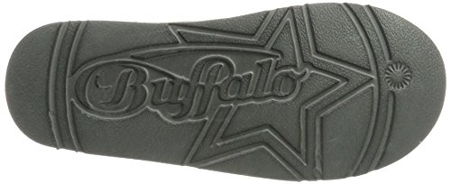 01 Mujer Micro Buffalo Grey Shoes Fiber Gris para Antideslizantes Botas 334774 77 8FOqP