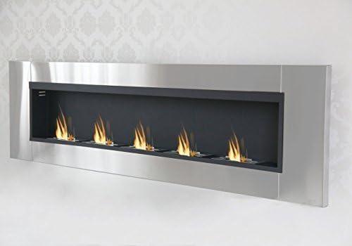 Druline (bioetanol, Color Negro Gel Chimenea Fireplace Mesa ...