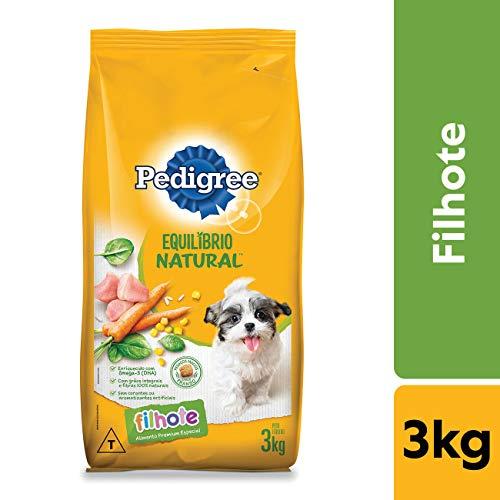 Ração Pedigree Equilíbrio Natural para Cães Filhotes 3 kg
