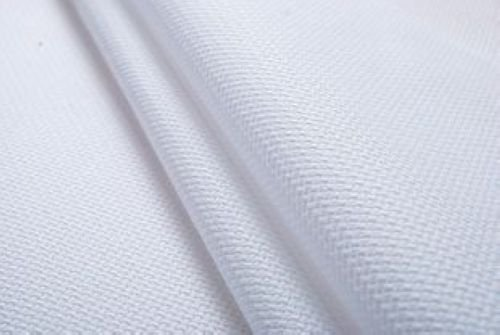 59 X 36  18Ct White Counted Cotton Aida Cloth Cross Stitch Fabric