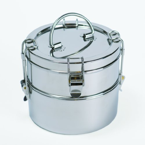 (To- Go Ware 2-Tier Stainless Lunch Box)