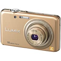 Digital Camera LUMIX DMC-FH7 Shine Gold color