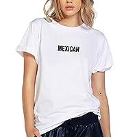 Blusa Playera Camiseta Dama Mexican Mexico Elite #559