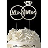 De Yi Enterprise 33014-MMR Wedding Cake Toppers - Sweet Sixteen - Silver