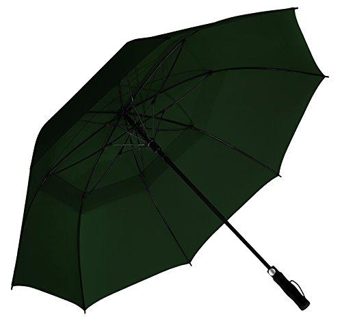 eez-y-62-golf-umbrella-w-extra-large-windproof-canopy-auto-open-sturdy-lightweight-dark-green