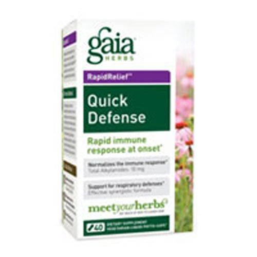 (Gaia Herbs Quick Defense, 40-capsule Box ( Multi-Pack))