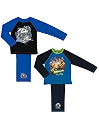 2 Pack Disney Boys Star Wars Pyjamas Set - Sizes 4 to 10 years
