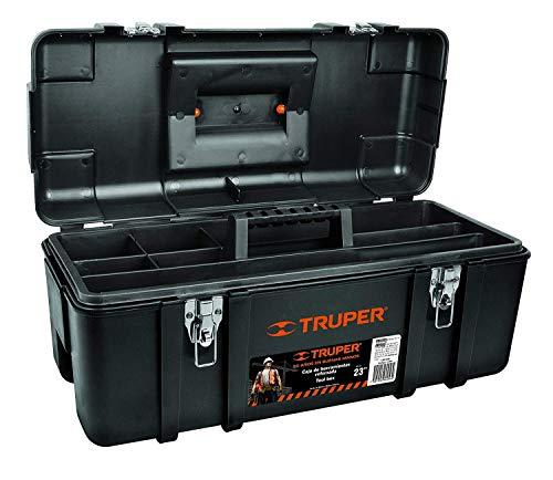 Truper CHP-23X Caja de Herramientas de Plástico de 23'
