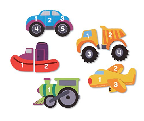 - Learning Resources Magnetic Counting Vehicle Puzzles (LER7726)