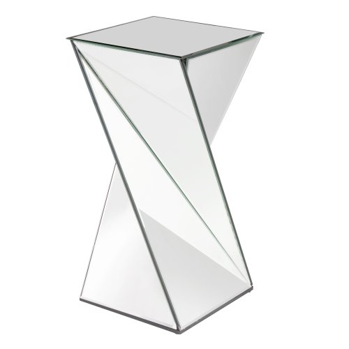 Howard Elliott 11093 Twisted Mirrored End (Twisted Pedestal)