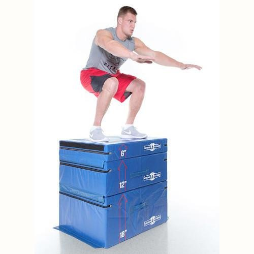 Gronk Fitness Soft Plyo Box Set. 6'' 12'' & 18'' - Commercial Grade by Gronk Fitness Products (Image #3)